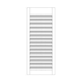 Buiten shutter - Los paneel