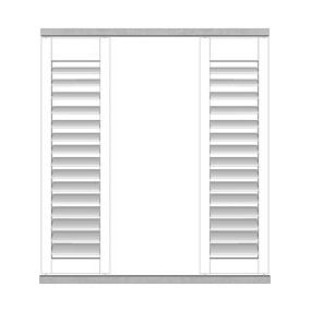 Buiten shutter - Schuifrailsysteem